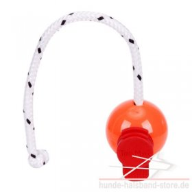 "Hundeball Top-Matic ""Fun Ball Orange""+Maxi Power Clip"
