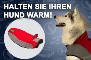 Hundemantel mit Fleece