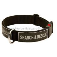 halsband mit logos halsband k9 24 8. Black Bedroom Furniture Sets. Home Design Ideas