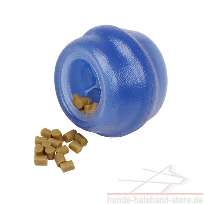 gummi ball blau rollendes kauspielzeug 21 0. Black Bedroom Furniture Sets. Home Design Ideas